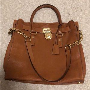 Michael Kors Hamilton bag with shoulder chain